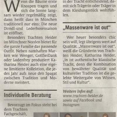 Mai 2017 - Abendzeitung München